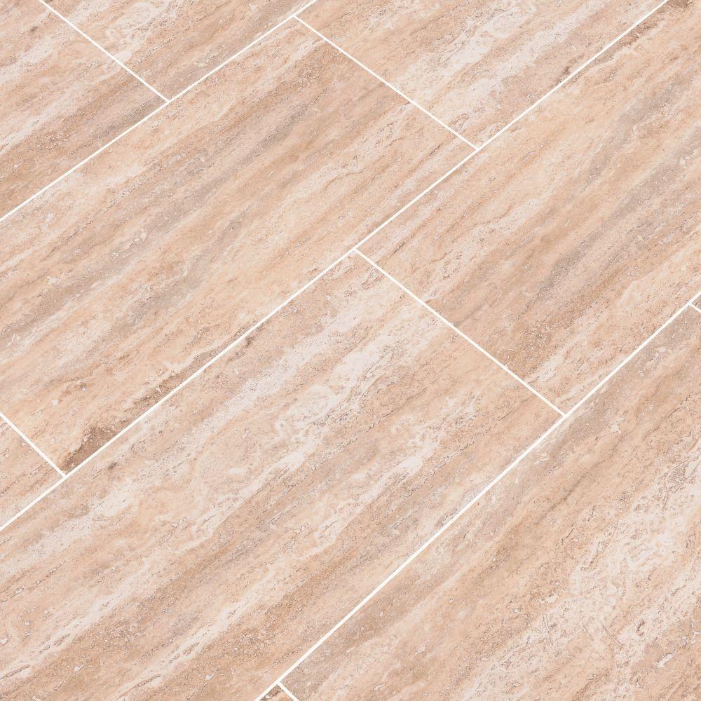 Pietra Venata Sand 12X24 Polished Porcelain Tile