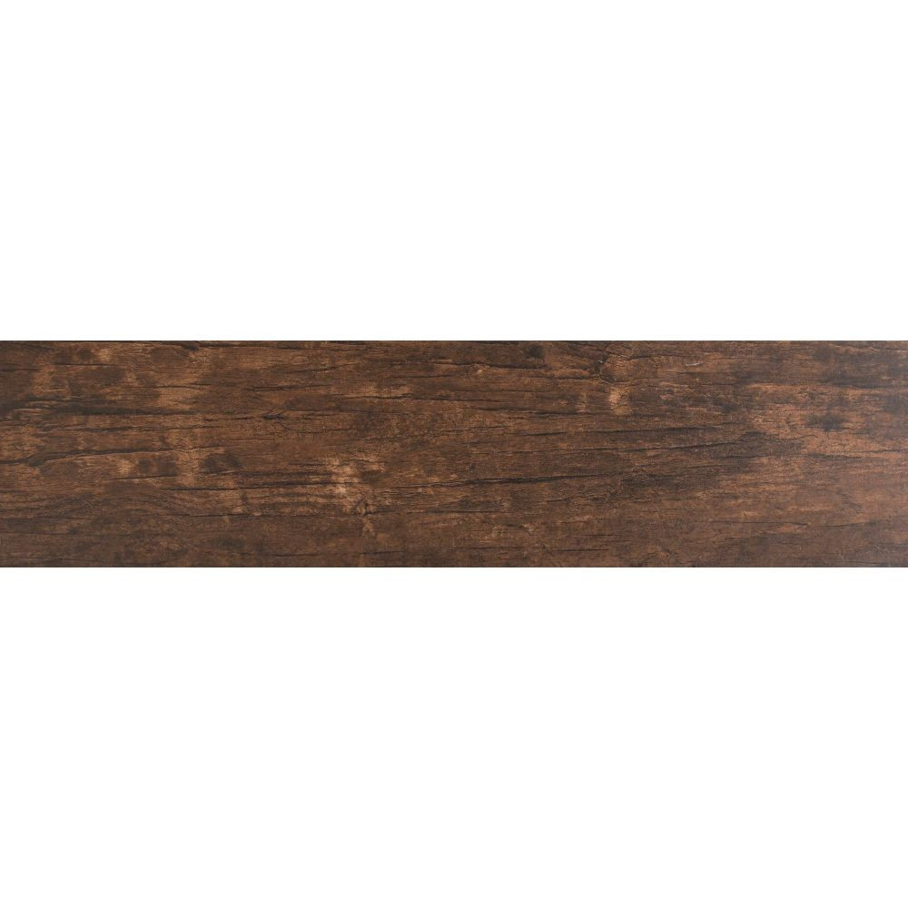 Redwood Mahogany 6x24 Matte Porcelain Tile