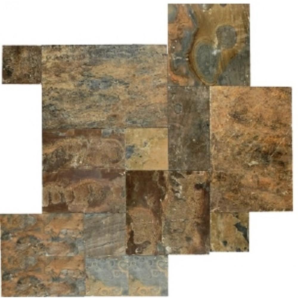 Rustic Gold 24X24 Gauged