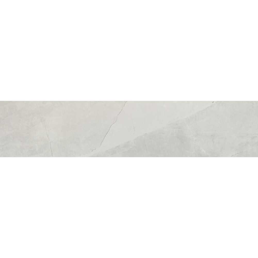 Sande Ivory 3X18 Polished Bullnose Porcelain Tile