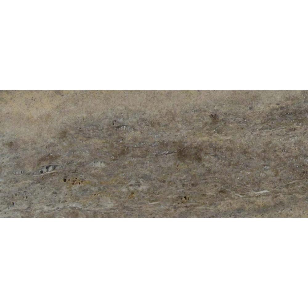 Silver Travertine Vein Cut 6x24 Honed