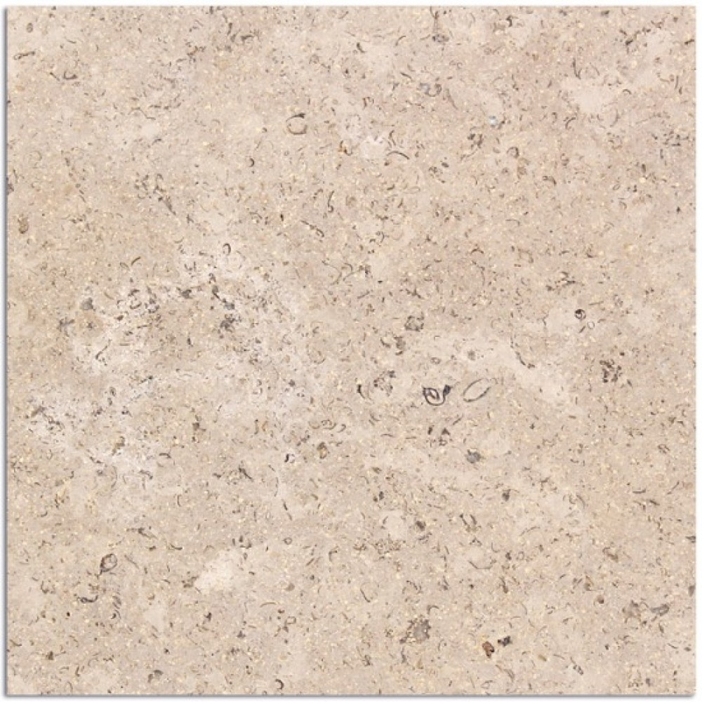 Sinai Pearl 18x18 Brushed Marble Tile