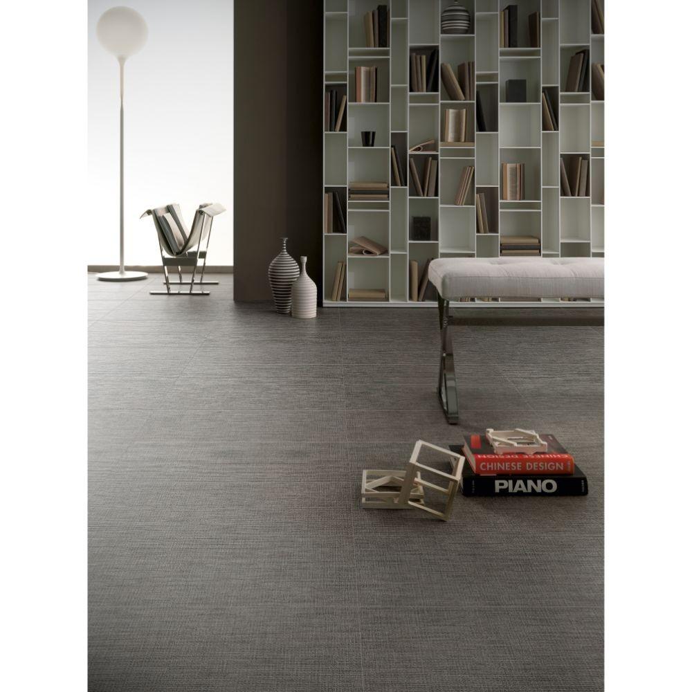 Tektile Lineart Gray 12X24 Matte Porcelain Tile