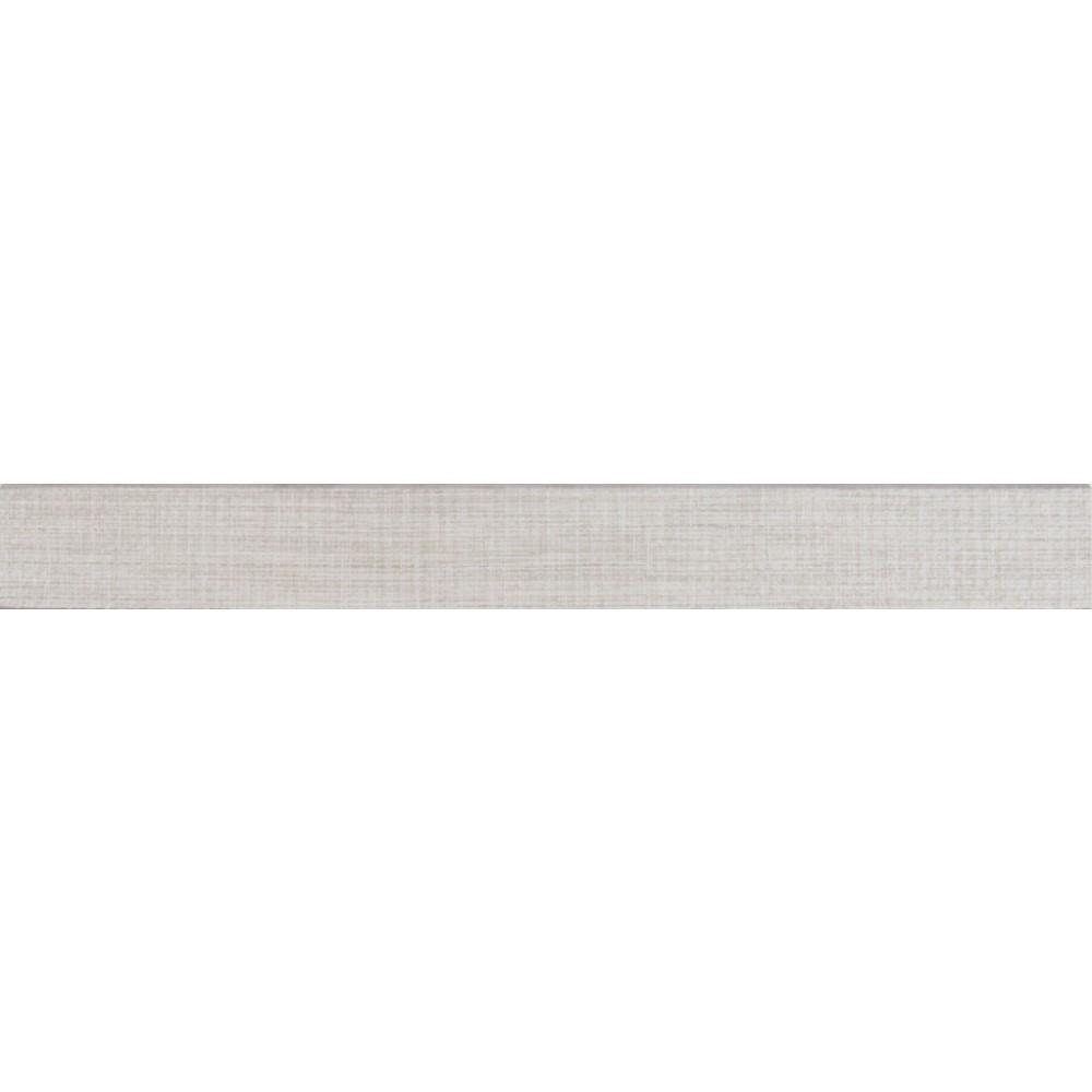 Tektile Lineart Gray 3X24 Matte Bullnose