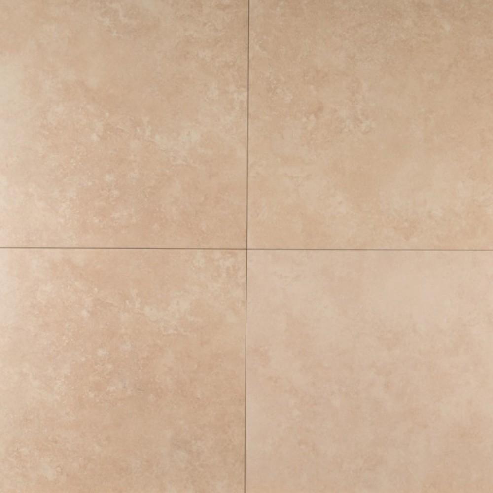 Travertino Beige 18X18 Matte Porcelain Tile