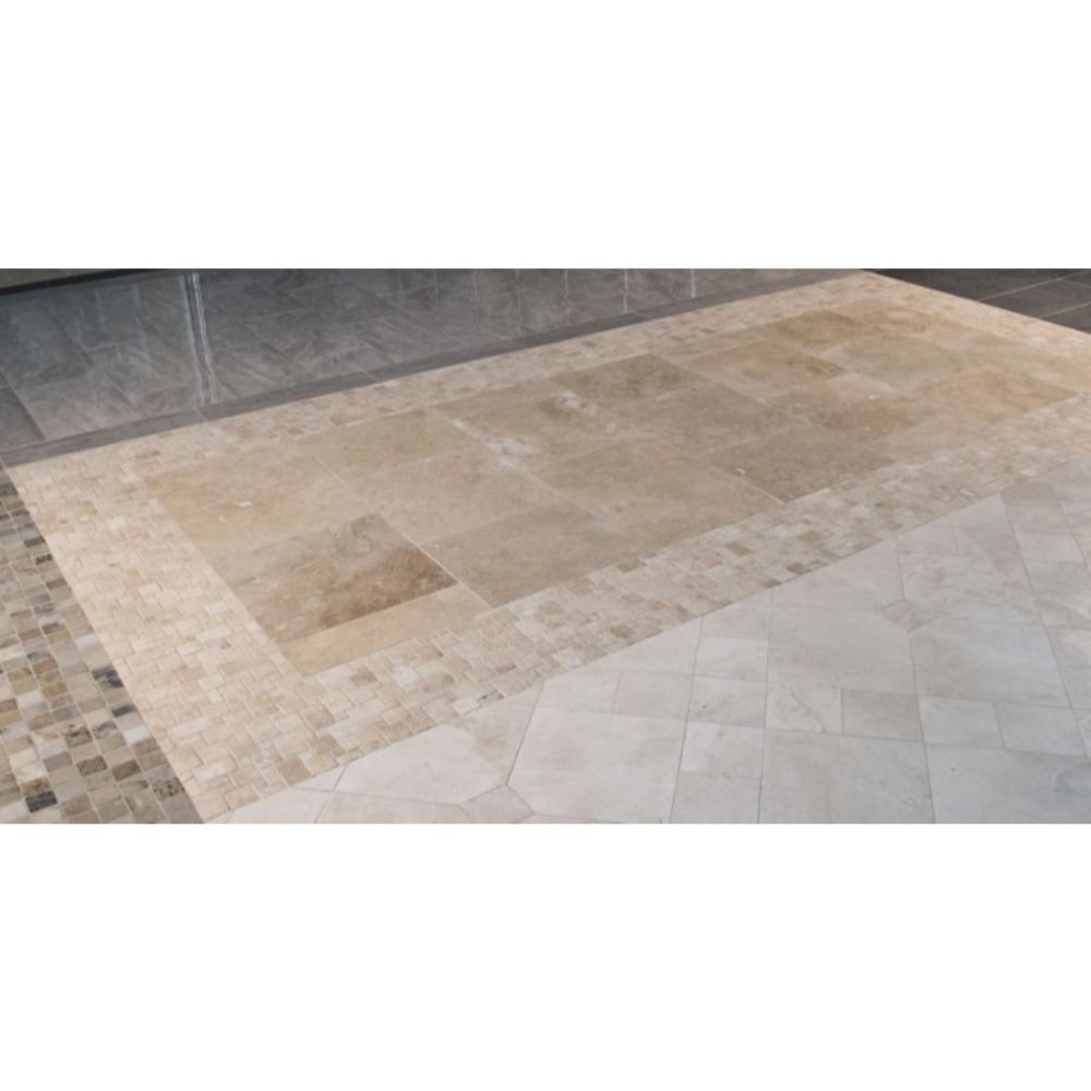 Tuscany Beige 18X18 Honed / Filled