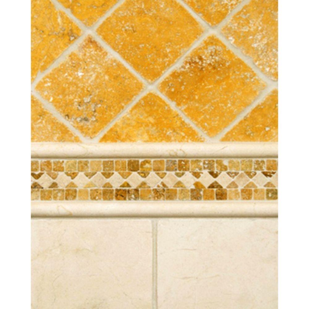 Tuscany Gold 6X6 Tumbled