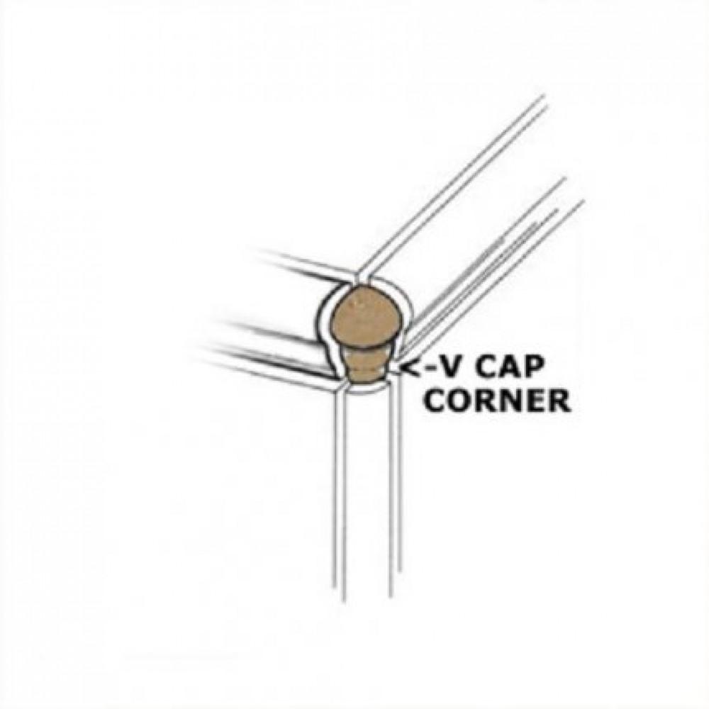 Venice Crema VCap Corner 1x3 Matte