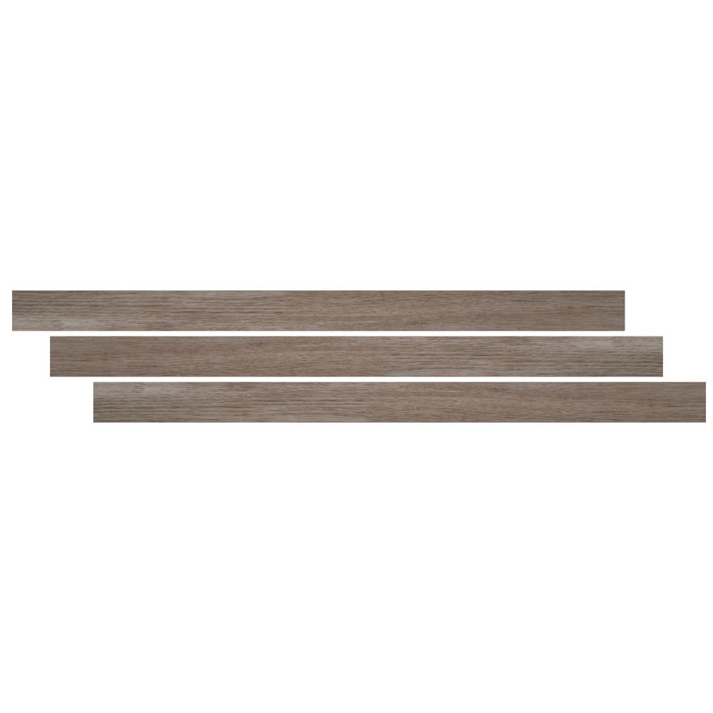 Whitfield Gray 1-3/4X94 Vinyl Overlapping Stair Nose