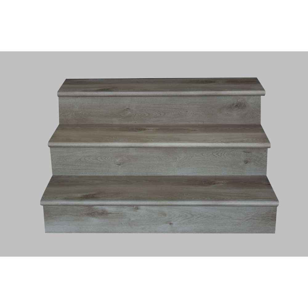 Whitfield Gray 12X47 Luxury Vinyl Stair Tread