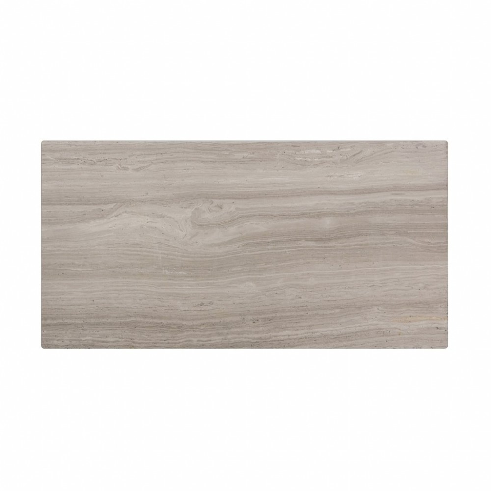 Wooden White 12x24 Polished Marble Tile