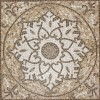 Tuscany Medallion 24x24 Matte Ceramic Floor Tile