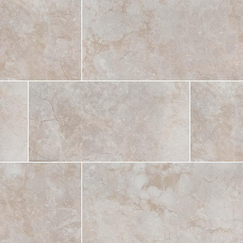 Essentials Ansello Ivory Bullnose 3X18 Matte Ceramic Tile