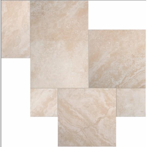 Estate Naturale Versailles Cinque Terre Beige Porcelain Pattern Tile