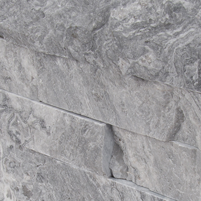 Glacial Grey 6X12X6 Split Face Corner Ledger Panel