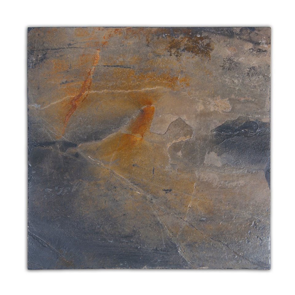 Golden Florence 12X12 Flamed Slate Tile