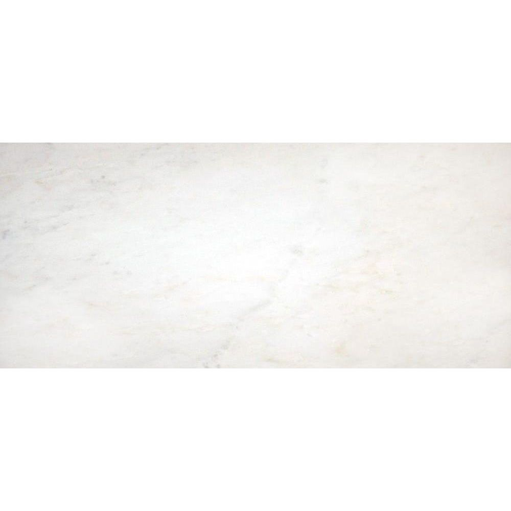 Greecian White 8x12 Polished Marble Tile