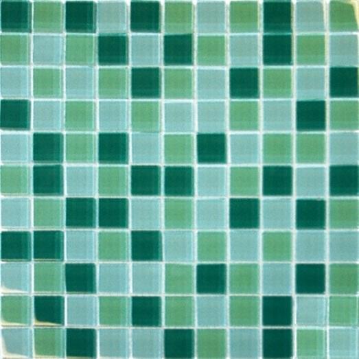 Green Blend 12X12 Crystallized