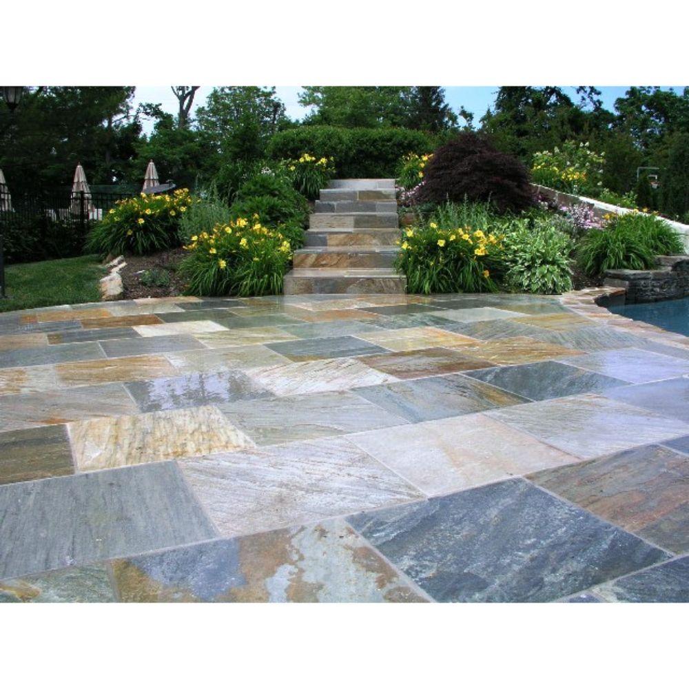 Horizon Quartzite 24X24 Gauged Quartzite Floor and Wall Tile