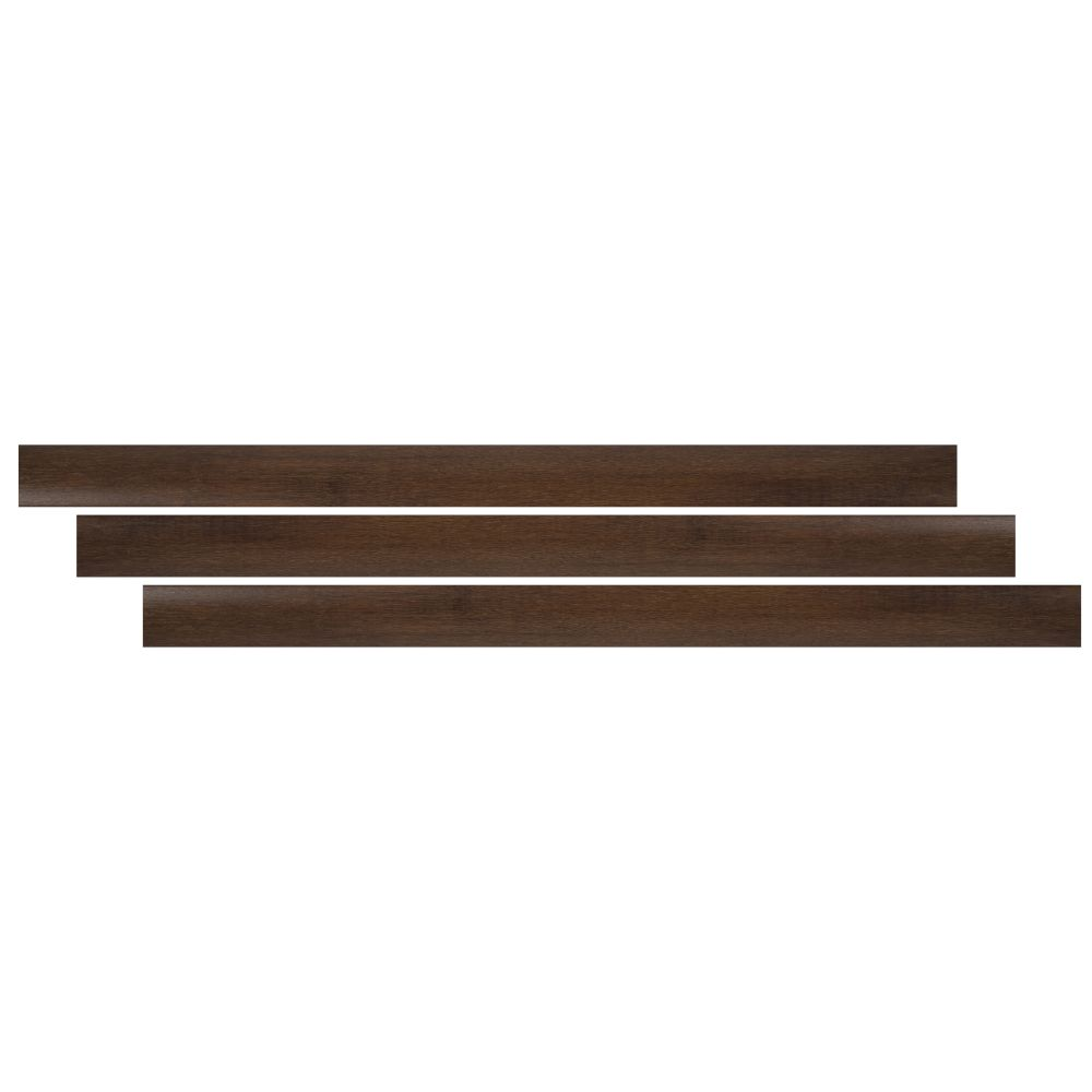 Jatoba 2-3/4X94 Vinyl Overlapping Stair Nose