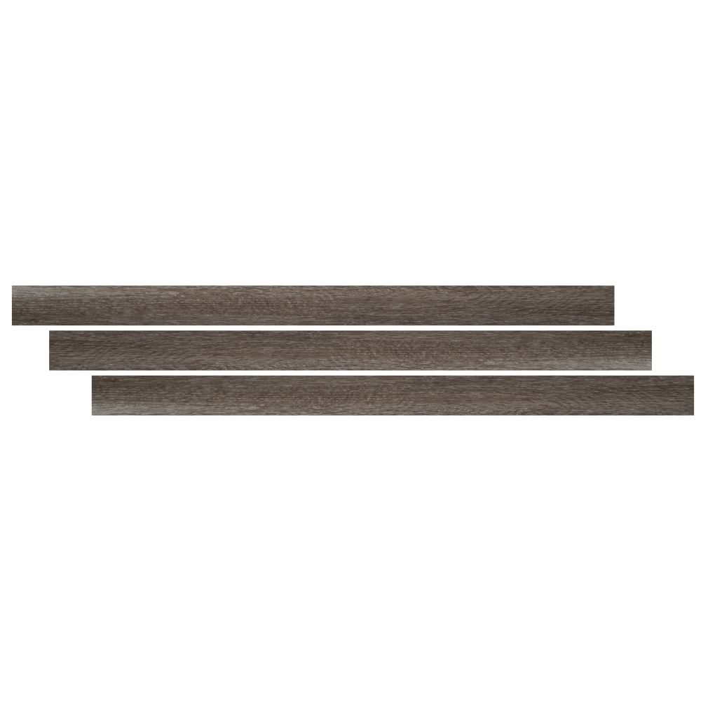 Ludlow / Charcoal Oak 1-3/4X94 Vinyl Large Tmolding