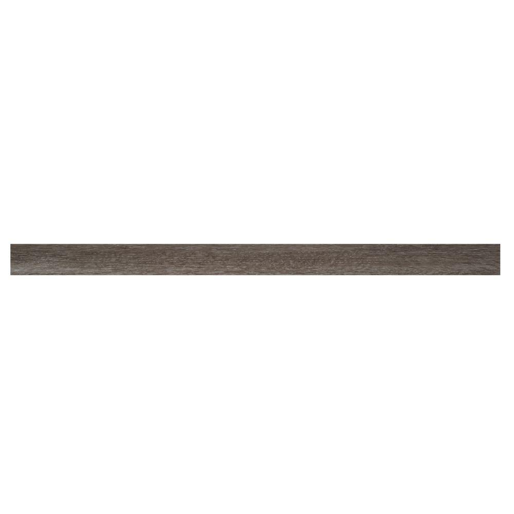 Ludlow / Charcoal Oak 2-3/4X94 Vinyl Flush Stair Nose