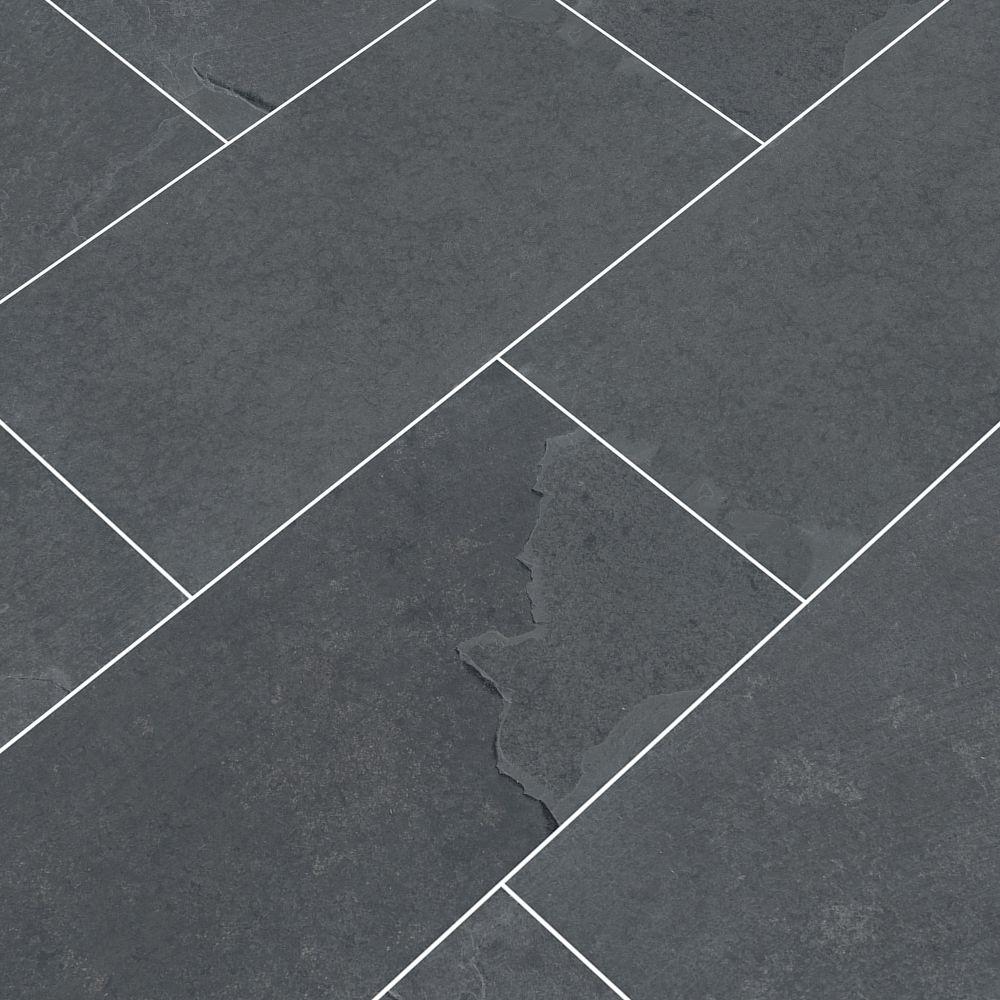 Montauk Black 3x6 Gauged Subway Tile
