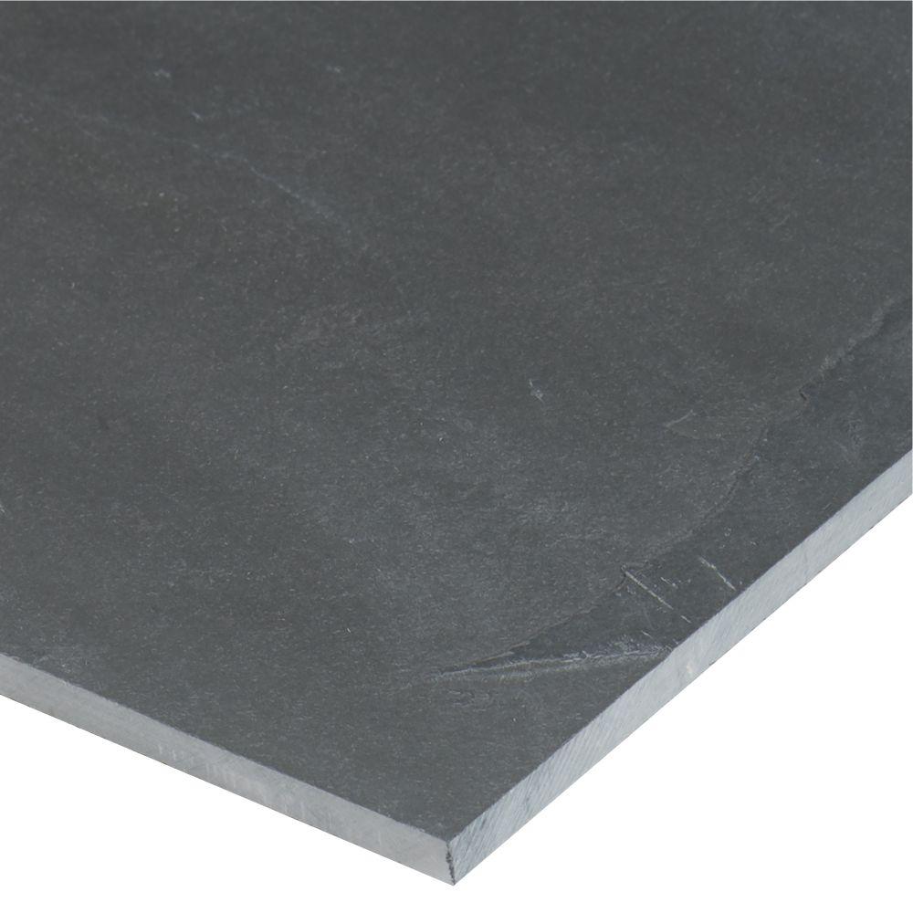 Montauk Blue 12X24 Gauged Slate Tile