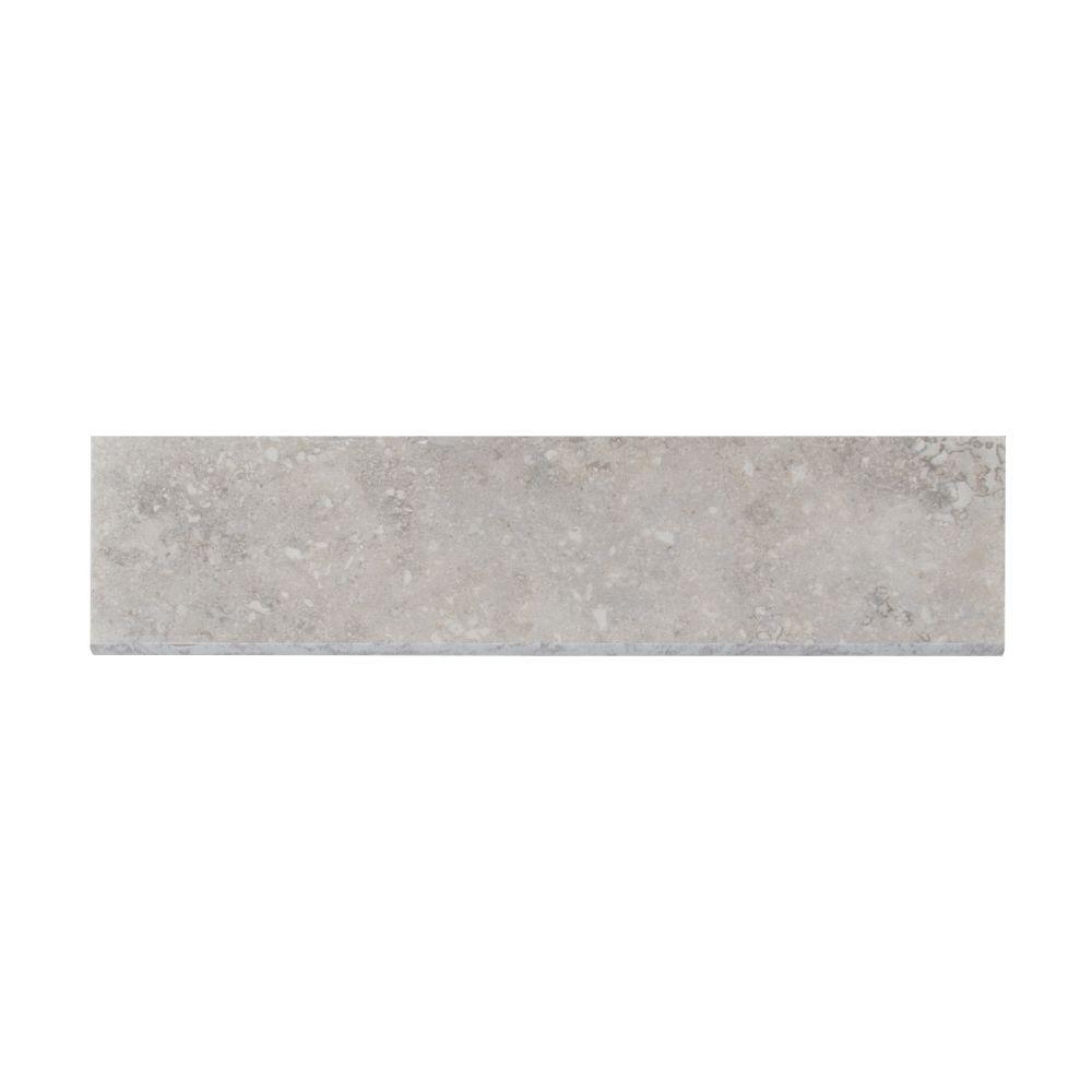 Napa Gray 3X13 Matte Bullnose Ceramic Tile