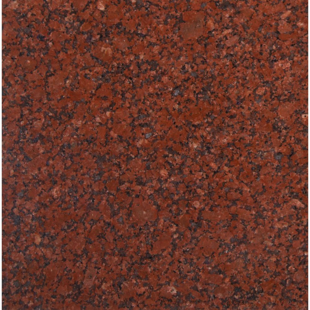 New Imperial Red 12X12 Polished