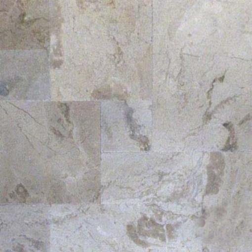 Golden Sand Pattern Brushed Marble Tile