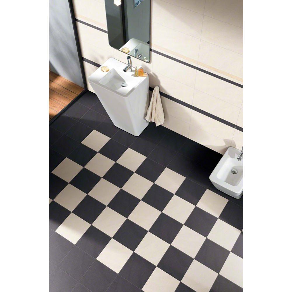 Optima Graphite Bullnose 4x24 Matte Porcelain Tile