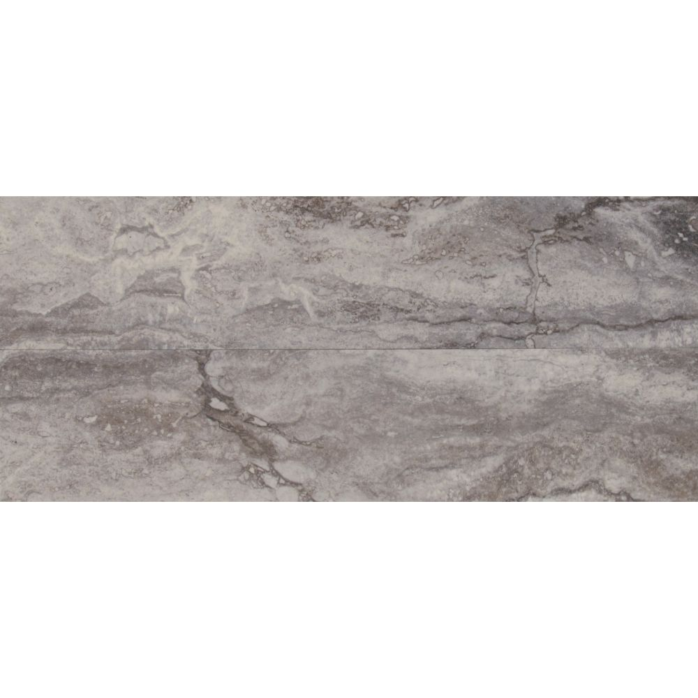 Pietra Bernini Carbone 4X18 Polished Porcelain Tile