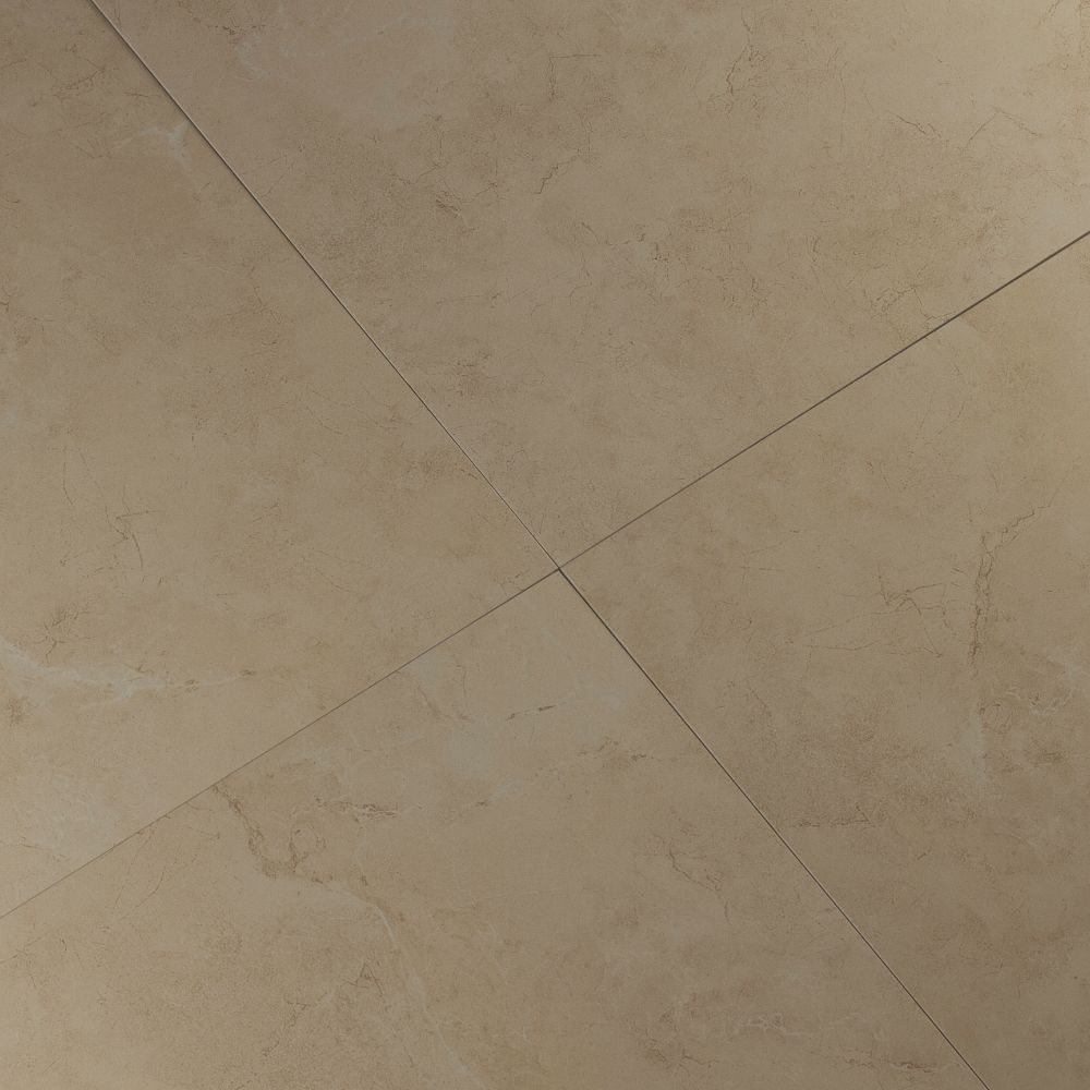 Pietra Marfil 18X18 Polished Porcelain Tile