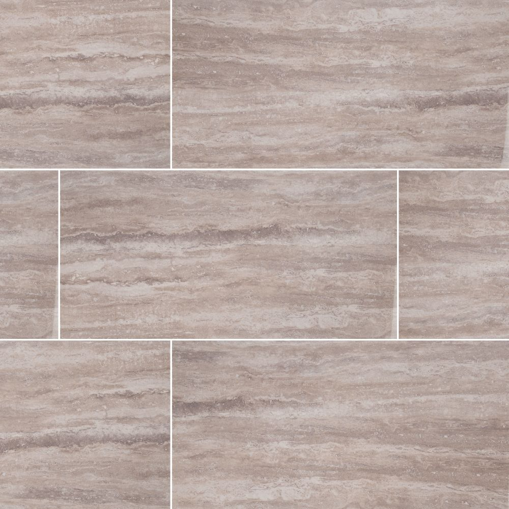Pietra Venata Gray 16X32 Polished Porcelain Tile