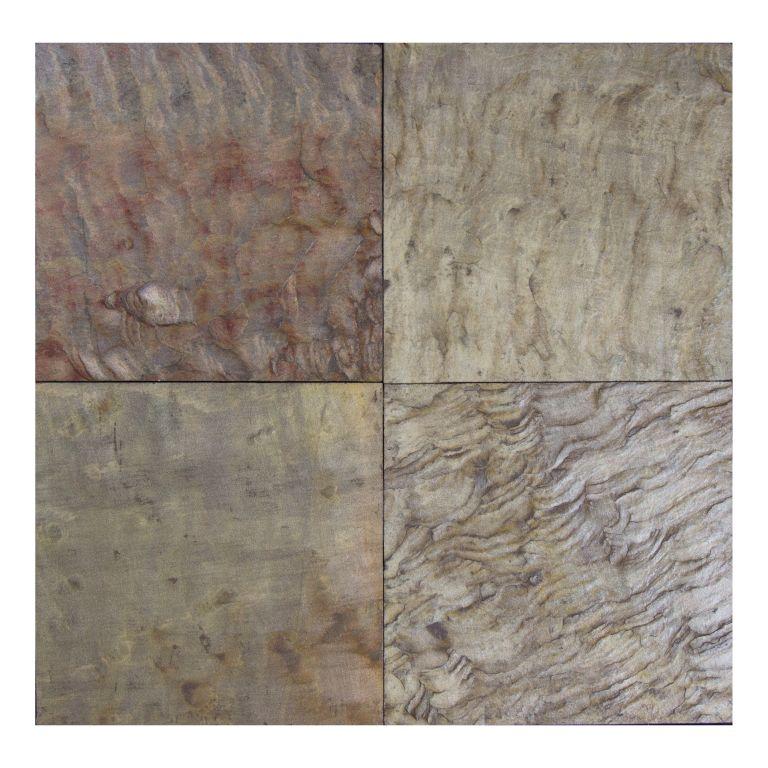 Pink Leather 12x12 Gauged Sandstone Tile
