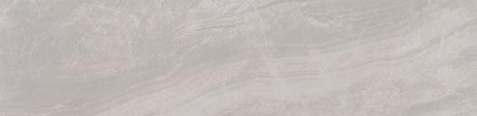 Praia Grey Matte 3X24 Bullnose Porcelain Tile