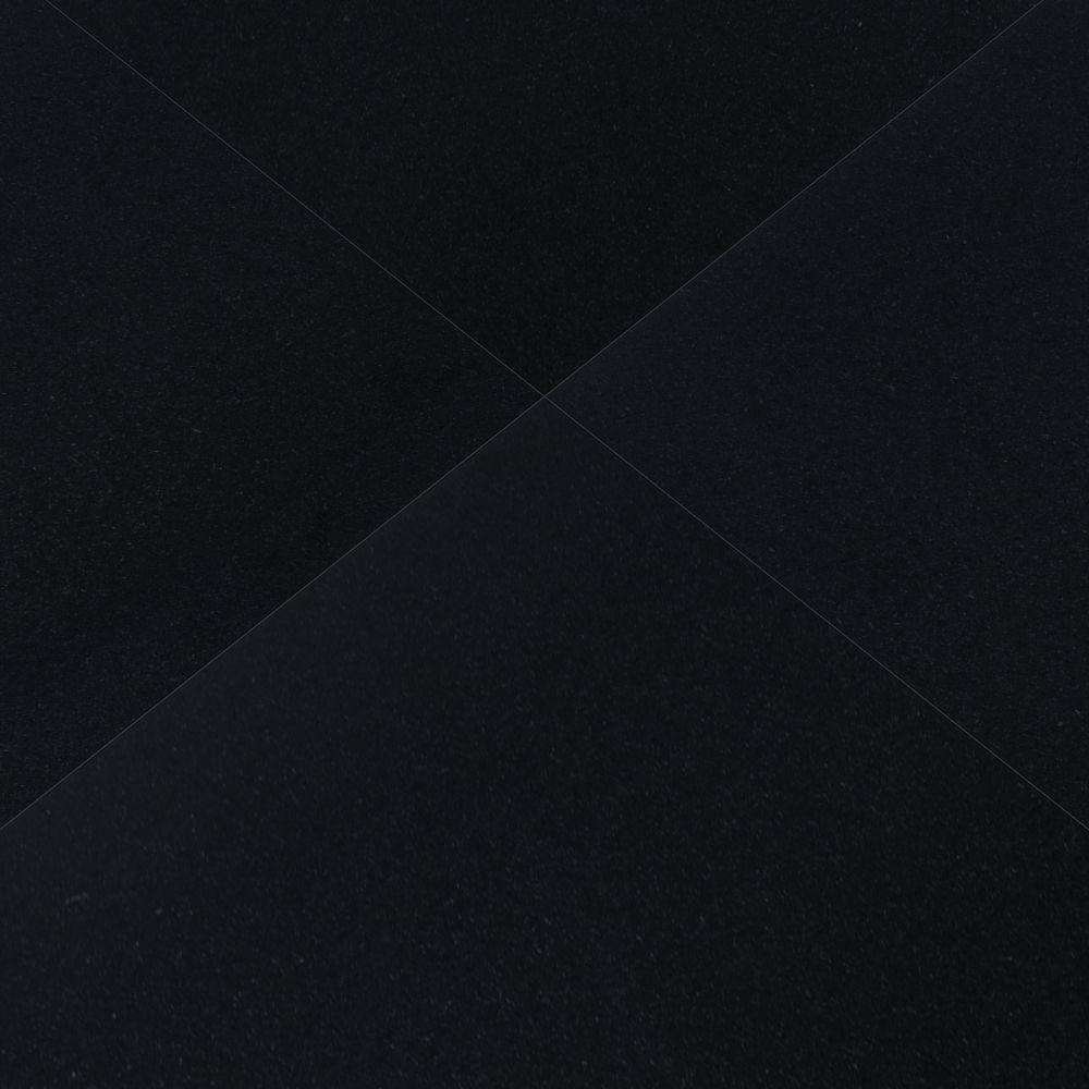 Premium Black 12x12 Honed Floor Tiles Usa