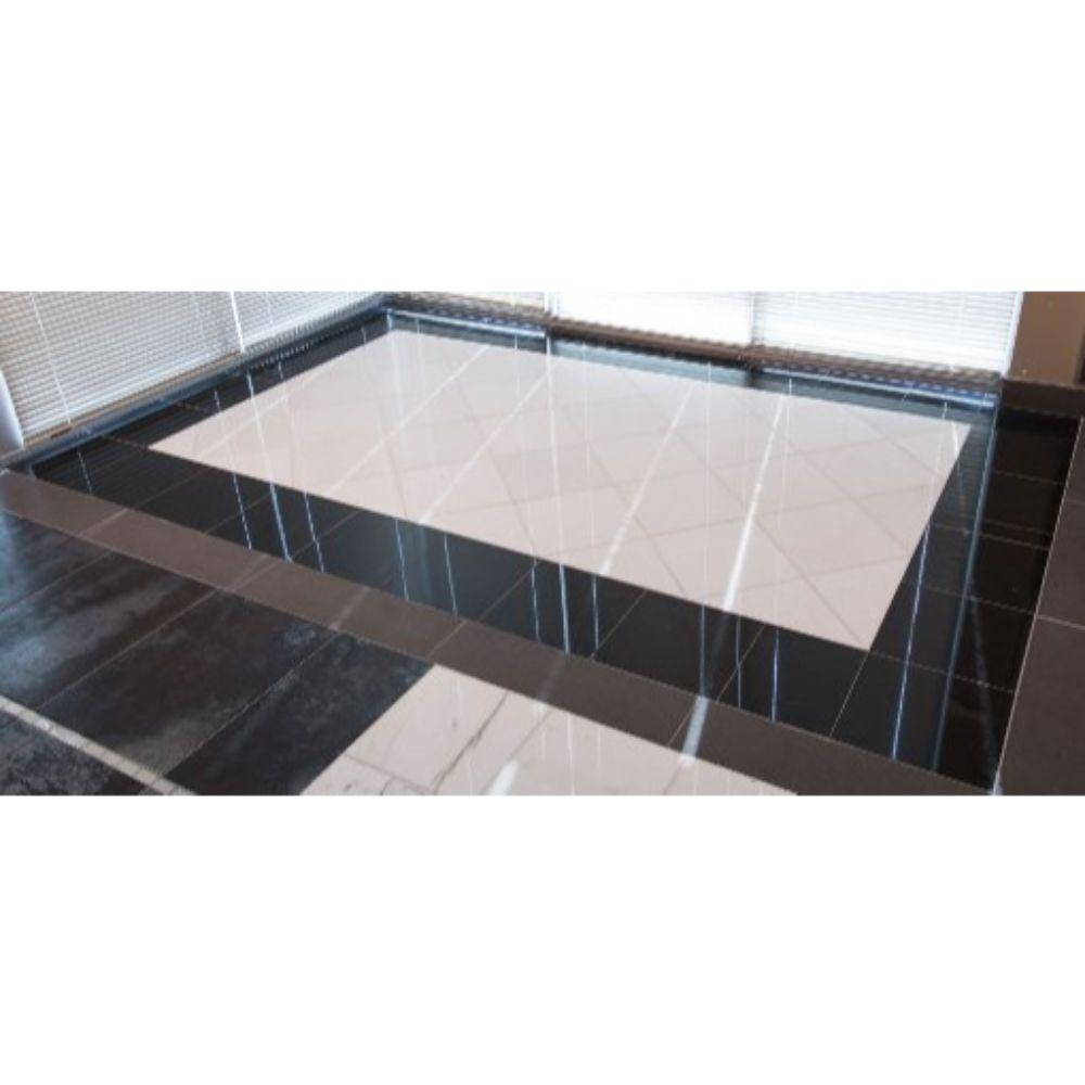 Premium Black 18X18 Honed Granite Tile