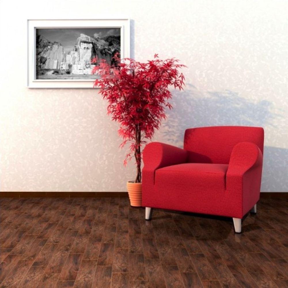 Redwood Mahogany 6X36 Matte Porcelain TIle