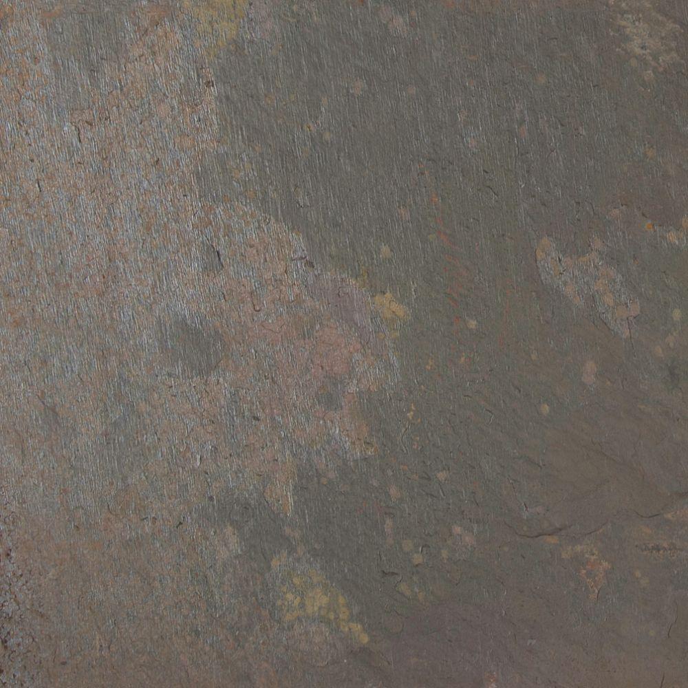Rustique Earth 16X16 Gauged Slate Floor and Wall Tile