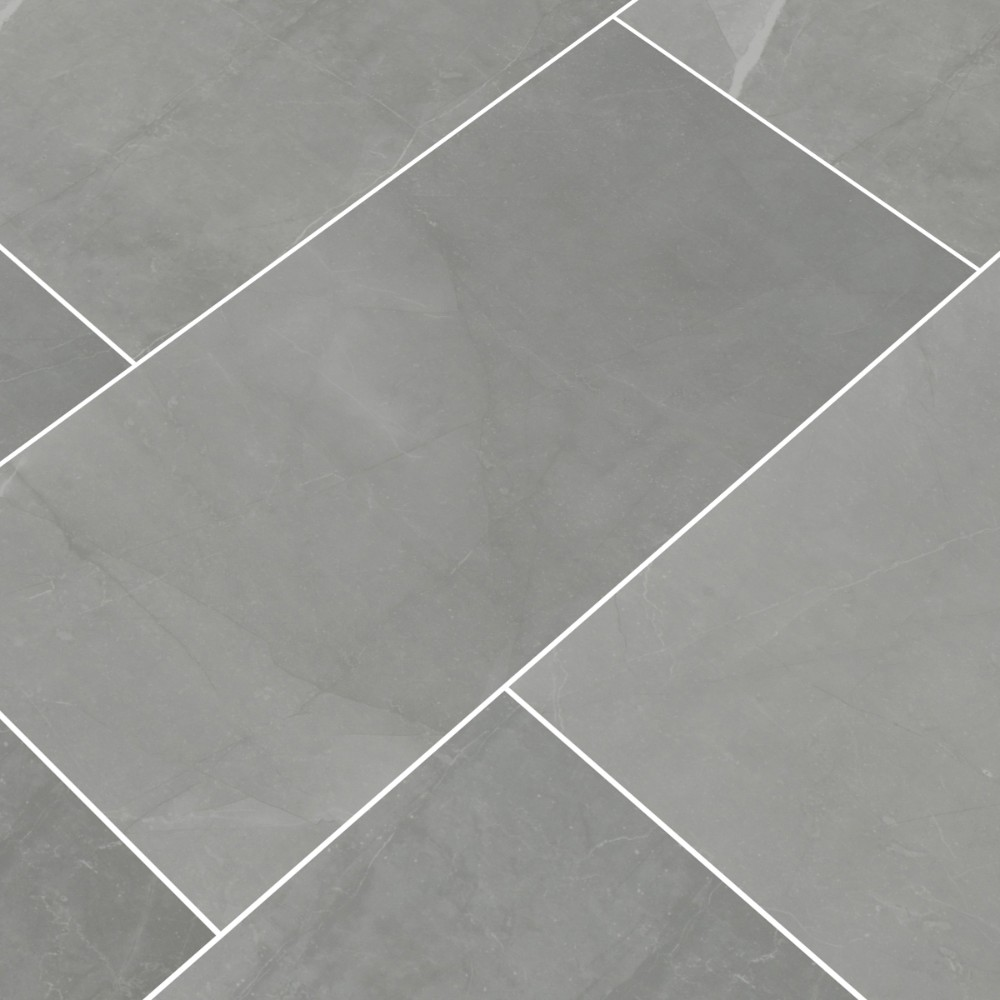 Sande Grey 12X24 Polished Porcelain Tile