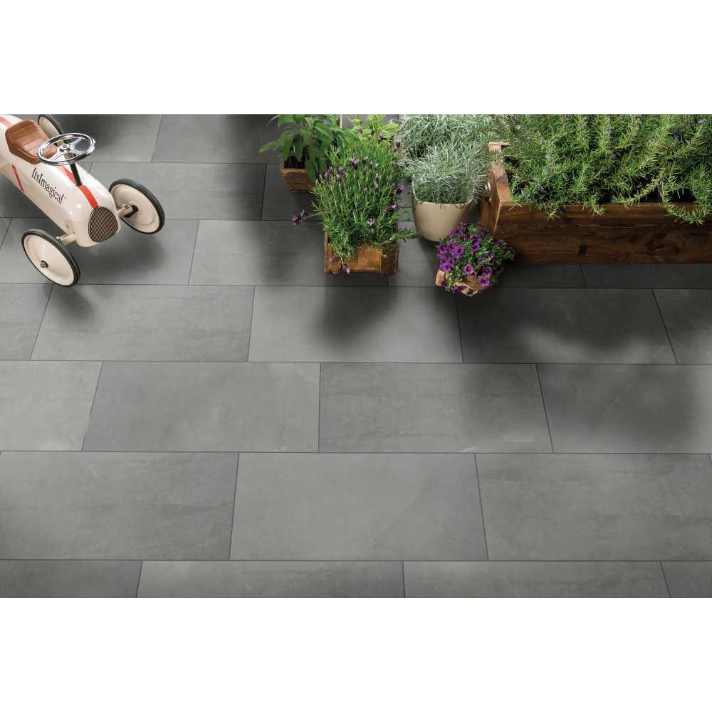 Sande Grey 24X24 Matte Porcelain Tile
