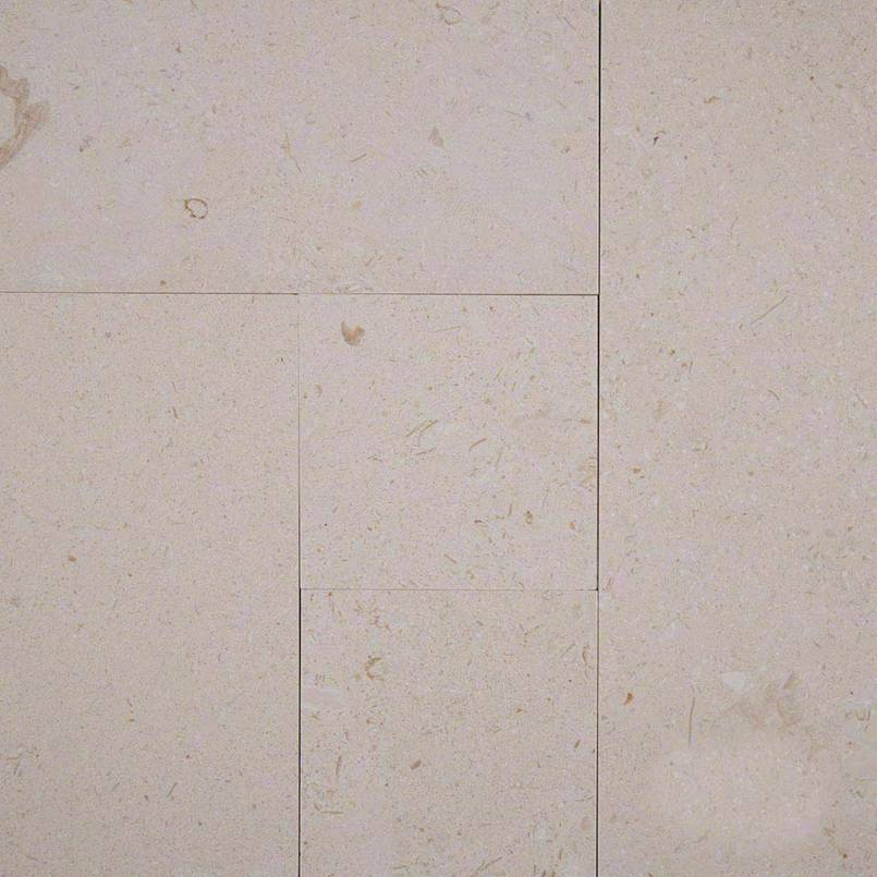 Sandy Pearl 8 Sqft Brushed Pattern Limestone
