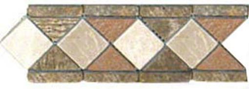 MSI Aspen Slate 4x12 Tumbled Border
