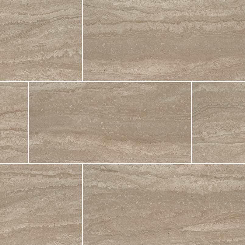 Sigaro Dunes 3X18 Polished Bullnose Ceramic Tile