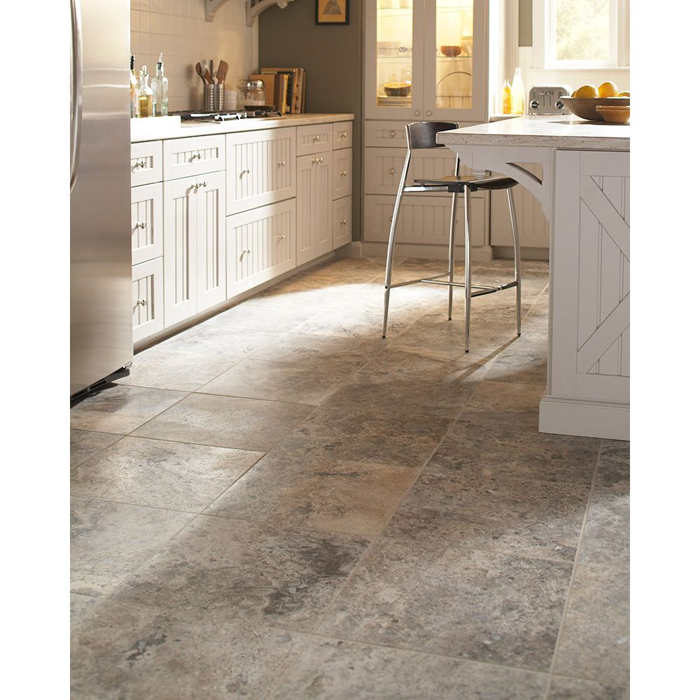 Silver Travertine 18X18 Honed / Filled Travertine Tile