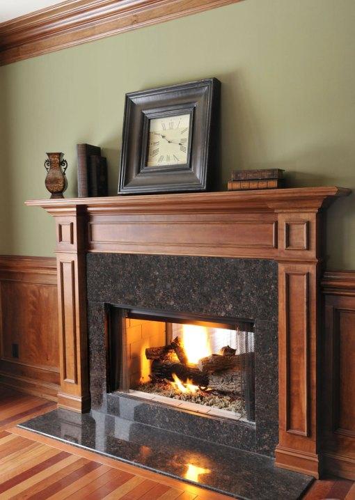 Tan Brown 18x18 Polished Granite Tile Floor Tiles Usa