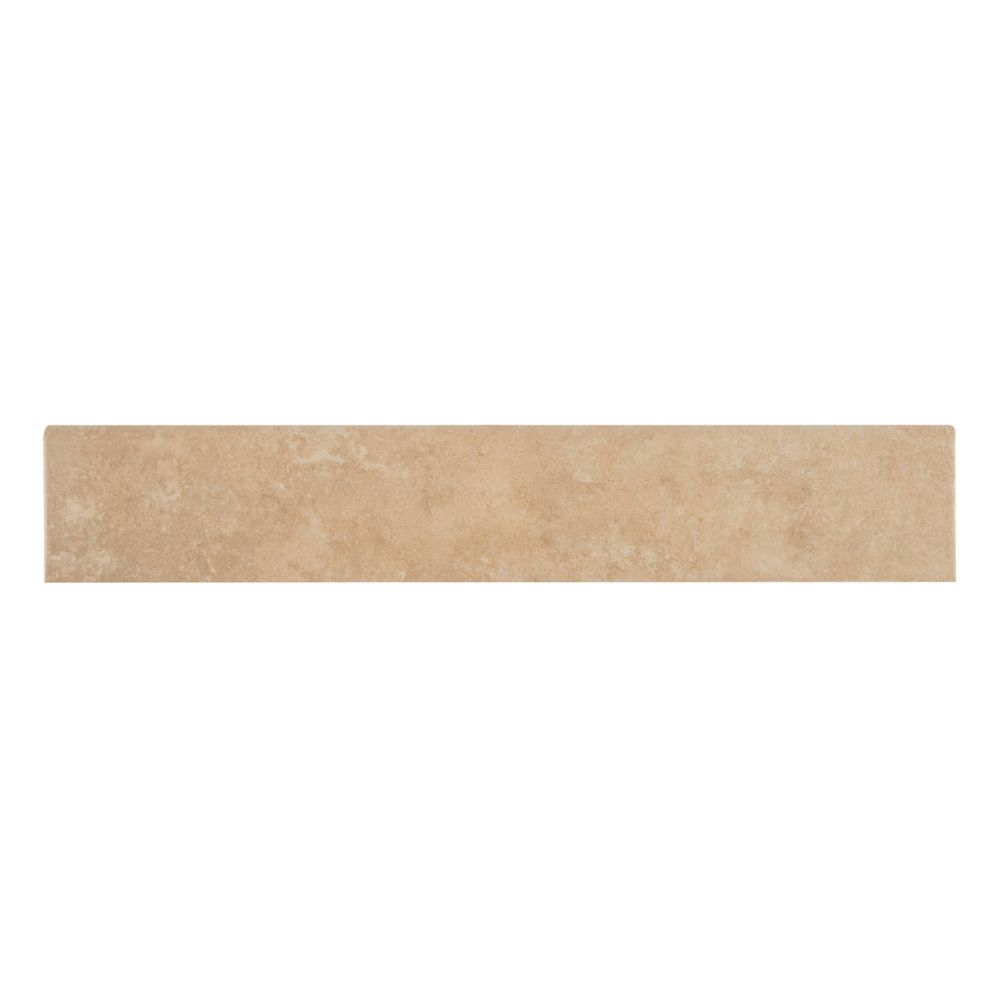 Travertino Beige 3X18 Matte  Tile