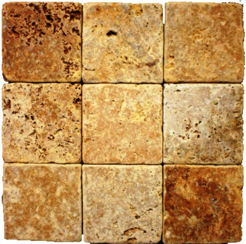Tuscany Gold 4X4 Tumbled